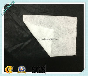 White Needle Felt Nonwoven Fabric for Wiping Cloth pictures & photos