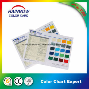 Nice Quality Valuable Art Paper Color Chart for Advertising pictures & photos