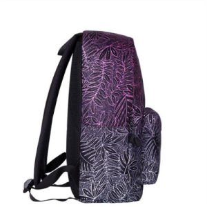2017 New Leaf Printed Shoulder Bag Youth Trend Travel Bag (GB#CH1505-D4) pictures & photos
