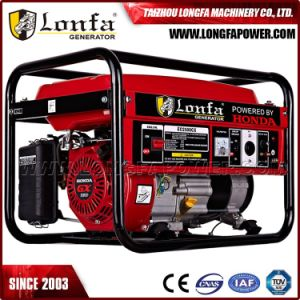 Taizhou Generator 5kw/5kVA Engine Professional Gasoline AC Generator for Honda pictures & photos
