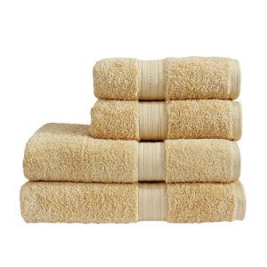 Star Hotel Grey Color Towel Microfiber Bath Towel pictures & photos