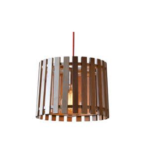 Reclaimed Elm Wood Rustic Barrel Pendant Lighting Oz-Al655 pictures & photos