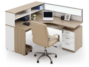 Modern Aluminum Glass Wooden Cubicle Workstation / Office Partition (NS-NW045) pictures & photos