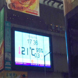 P 3.75-6.67 Transparent Glass LED Display Manufacturer pictures & photos