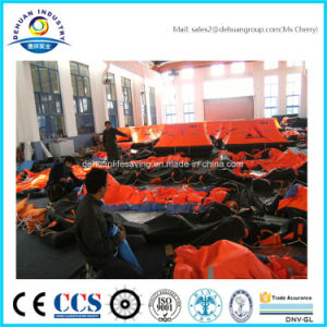 Solas 30/35 Person Throw Over Board Liferaft Wih Ec/Gl Certified pictures & photos