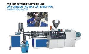PVC Hot Cutting Pelletizing Line pictures & photos