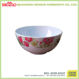 FDA Approved External Printed Melamine Dinner Bowl pictures & photos