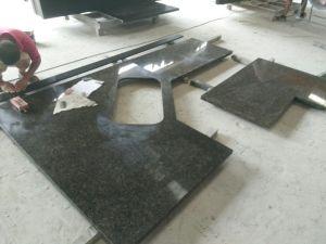 Verde Ubatuba Green Granite Kitchen Countertops/Worktops/Island Tops pictures & photos