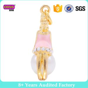 2017 Factory Alloy Wholesale Fancy Cage Pearl Pendant Designs for Girls pictures & photos