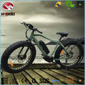 Alloy Frame Fat Tire Electric Beach Bike with LCD Display pictures & photos