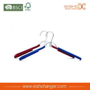 Eisho Anti-Slip Foam Metal Hanger pictures & photos