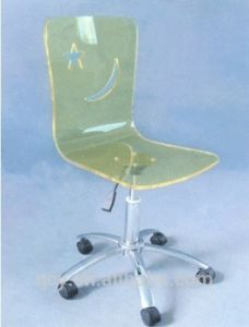 Comfy Clear Acrylic Swivel Chair pictures & photos