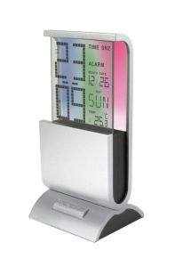 Digital Table Clock with Changing Display pictures & photos