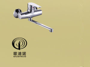 Oudinuo Single Handle Brass Wall-Mounted Kitchen Mixer & Faucet 67418-1 pictures & photos