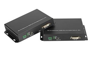 DVI Optical Transmitter and Receiver/ Converter pictures & photos