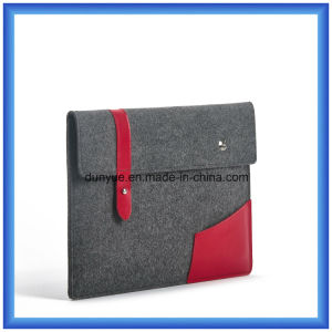 "Factory New Promotional Eco-Friendly Wool Felt Laptop Sleeve Bag with Mouse Bag for Apple MacBook Air PRO, PRO Retina 13.3"" pictures & photos"