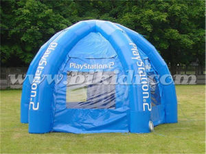 Blue Color Inflatable Spider PVC Dome Tent for Sale K5151 pictures & photos
