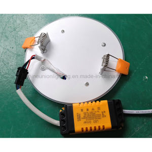6+2 W Round LED Panel Light pictures & photos
