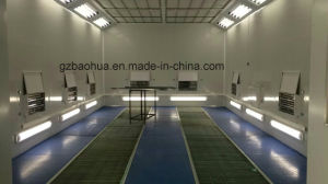 Electric Heating Car Paint Booth with Exhaust Fan pictures & photos