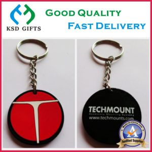 Promotional Wholesale Custom Logo Keychain /Silicone Keyring/PVC Key Chain pictures & photos