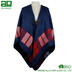 Elegant Bohemia Women Shawls Retro Winter Capes pictures & photos