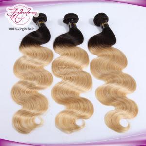 Hotsale Natural 1b/Blonde Body Wavy Mongolian Grade 8A Virgin Hair pictures & photos