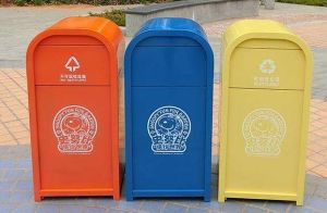 Heavy Duty Amusement Park and Theme Park Trash Can (HW-64) pictures & photos