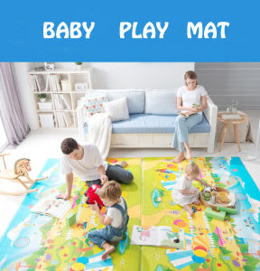 Baby Play Mat Stitching Style Lock Safety Material Practice Crawling for Baby 08d6 pictures & photos
