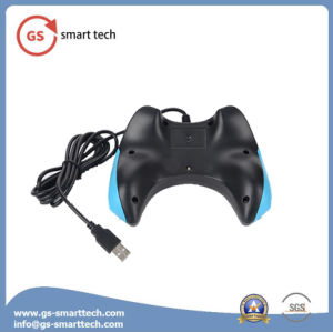 Double Vibration Wired USB Game Controller pictures & photos