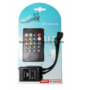Wholesale Price IR 20 Keys LED Music Controller pictures & photos