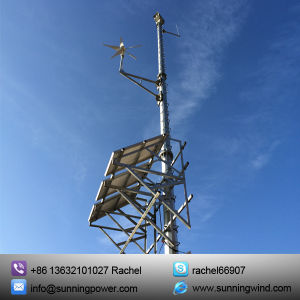 400W off Grid CCTV Power Supply Wind Turbinesystem pictures & photos
