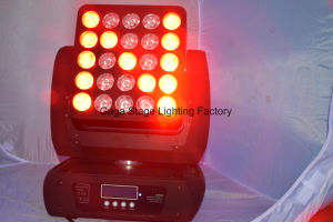 25PCS 12W Matrix LED Moving Head Light Wash Panel pictures & photos