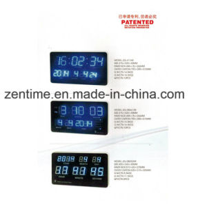 Big Digital LED Wall Clock in Colorful Digital pictures & photos