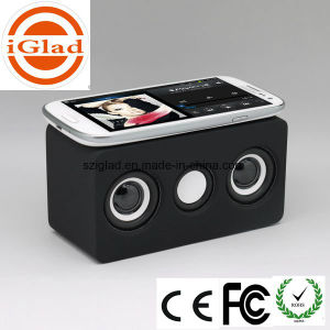 Touch Induction Portable Wireless Stereo Sensor Mobile Speaker pictures & photos
