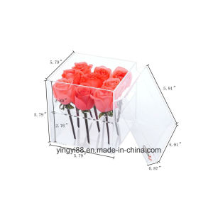 High Quality Acrylic Plastic Buckets for Flowers pictures & photos