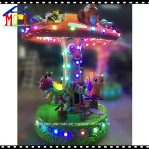 Merry Go Round Dino Carousel Coin Operated Machine Kids Ride pictures & photos