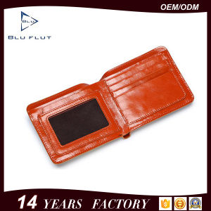 Coin Pocket Credit Card Wallet Custom Image Printed Leather Wallet pictures & photos