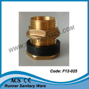 Brass Flanged Connector for Tank (F12-026) pictures & photos