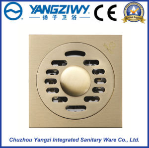 Yz9028d Square Stainless Steel Bathroom Hardware Floor Drain pictures & photos
