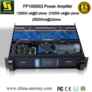 Fp10000q 4 Channel Professional Audio Power Amplifier, PA Subwoofer System, Professional Audio Power Amplifier pictures & photos