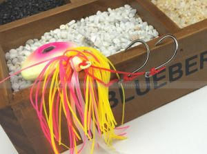 Lead Jig Head with Feather pictures & photos