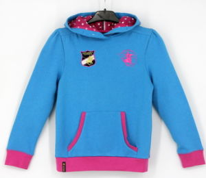 Ss17 Girls Top Fleece Embroidery Sweatshirt Hoodies Top Clothes pictures & photos