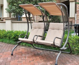 Single Swing Chair Garden Furniture pictures & photos