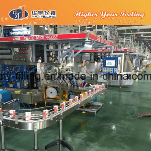 Milk Slim Brick Aspetic Carton Filling Machine pictures & photos