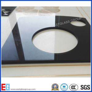 6mm Flat&Curved Paint Tempered Glass Panel for Kitchen&TV pictures & photos