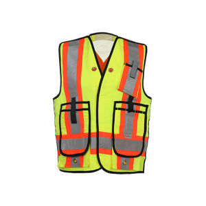 Reflective Safety Vest with Class 2 Csaz96-09