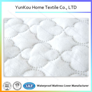 Waterproof Ultrasonic Quilted Underpad Laminated Polyester Fiber Batting pictures & photos