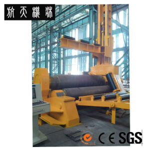 Four-Roll Bending Rolls W12H-30*3000 Rolling Machine pictures & photos