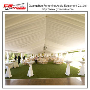 20mx 50m Outdoor Garden Wedding Marquee with Transparent Roof and Clear Wall Tent pictures & photos