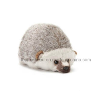 Cheap Price Animal Toy Stuffed Soft Plush Doll Hedgehog Toy for Promotional pictures & photos